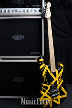 Load image into Gallery viewer, Charvel Art Series EVH Bumblebee Stripe Series Black and Yellow
