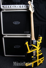 Load image into Gallery viewer, Charvel USA Art Series EVH Bumblebee Stripe Series Black and Yellow