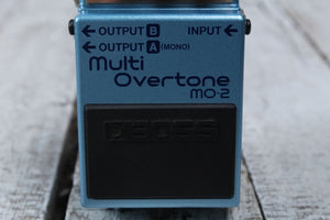 Boss MO-2 Multi Overtone Electric Guitar Effects Pedal with Three FREE Cables