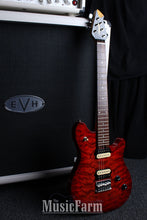 Load image into Gallery viewer, Peavey Wolfgang Junior Quit Top in Trans Red with Tremolo 1 of 13 Made!