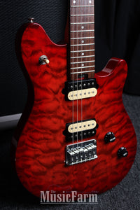 Peavey Wolfgang Junior Quit Top in Trans Red with Tremolo 1 of 13 Made!