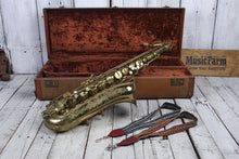 Load image into Gallery viewer, Used Buescher Aristocrat Elkhart Indiana Tenor Sax w/Case