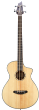 Load image into Gallery viewer, Breedlove Pursuit Concert Bass CE Acoustic Electric 4 String Bass Guitar Natural