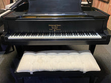 "Load image into Gallery viewer, Steinway & Sons 1912 Model O Grand Piano 5' 10"" Satin Ebony with Bench"