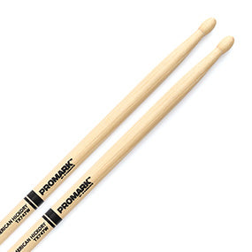 Promark American Hickory 747 Rock Wood Tip Drumsticks