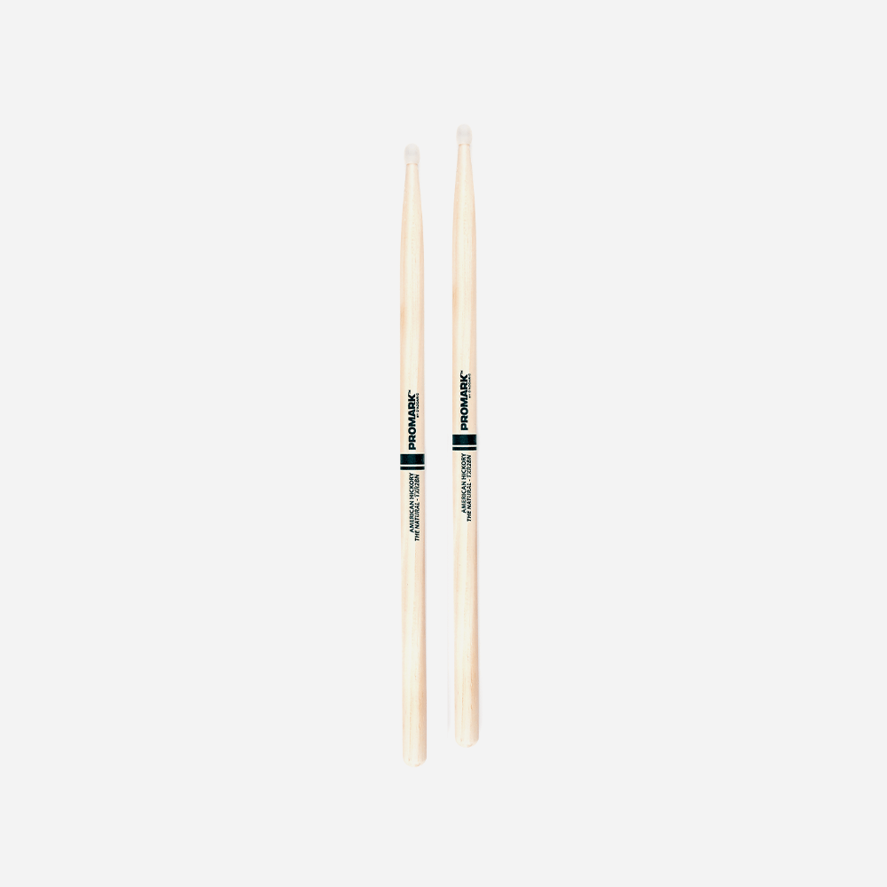 Pro-Mark Drumsticks - 2B - Natural - Nylon Tip