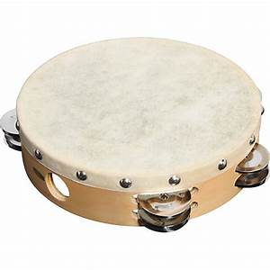 T12HD  Hw Products T12hd 12 Inch Tambourine With Two Rows of Jingles