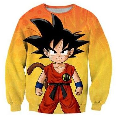 Dragon Ball Kid Goku Sweatshirt