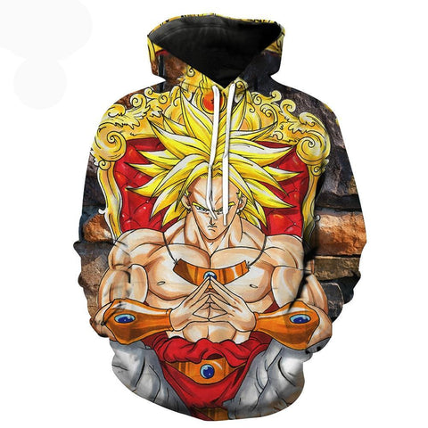 Dragon Ball Z Super Broly hoodie