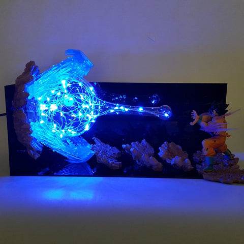 DRAGON BALL Z GOKU KAMEHAMEHA LED SETUP