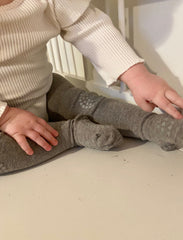 GoBabyGo crawling tights in grey