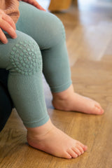 Crawling leggings - Dusty Blue
