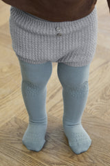 Crawling tights - Dusty Blue