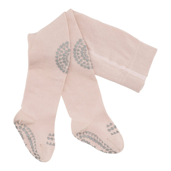 Crawling tights - Soft Pink Glitter
