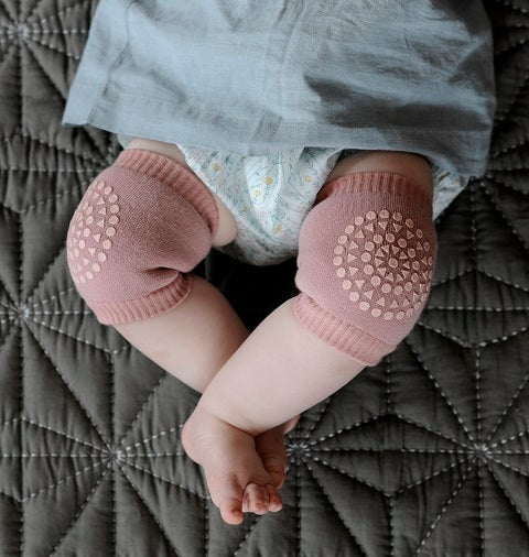 Crawling kneepads - Dusty Rose