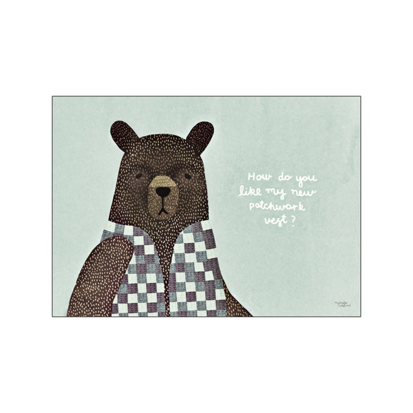 Bear dress up vest