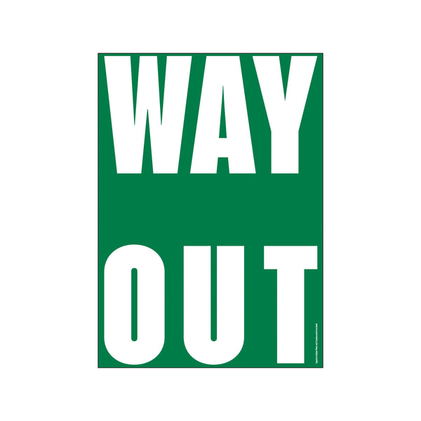Get it out - WAY OUT