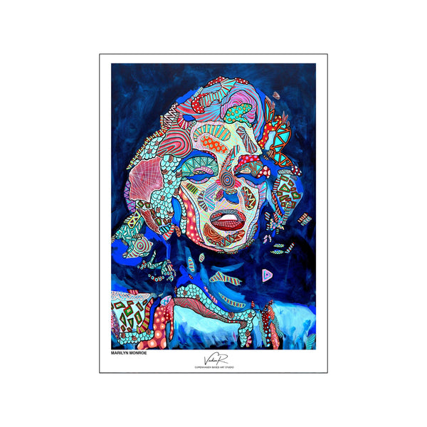 Marilyn - Blue - passepartout
