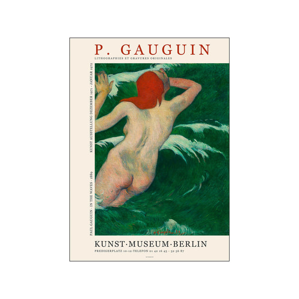 Paul Gauguin - Art exhibition print