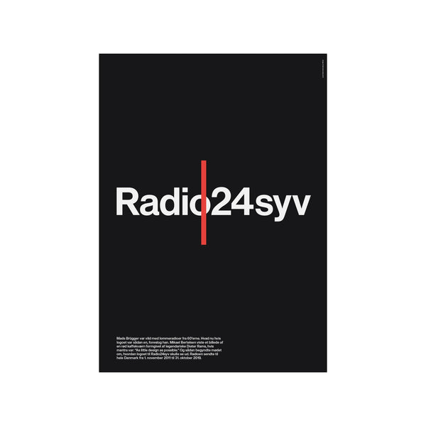 Radio24syv - Sort