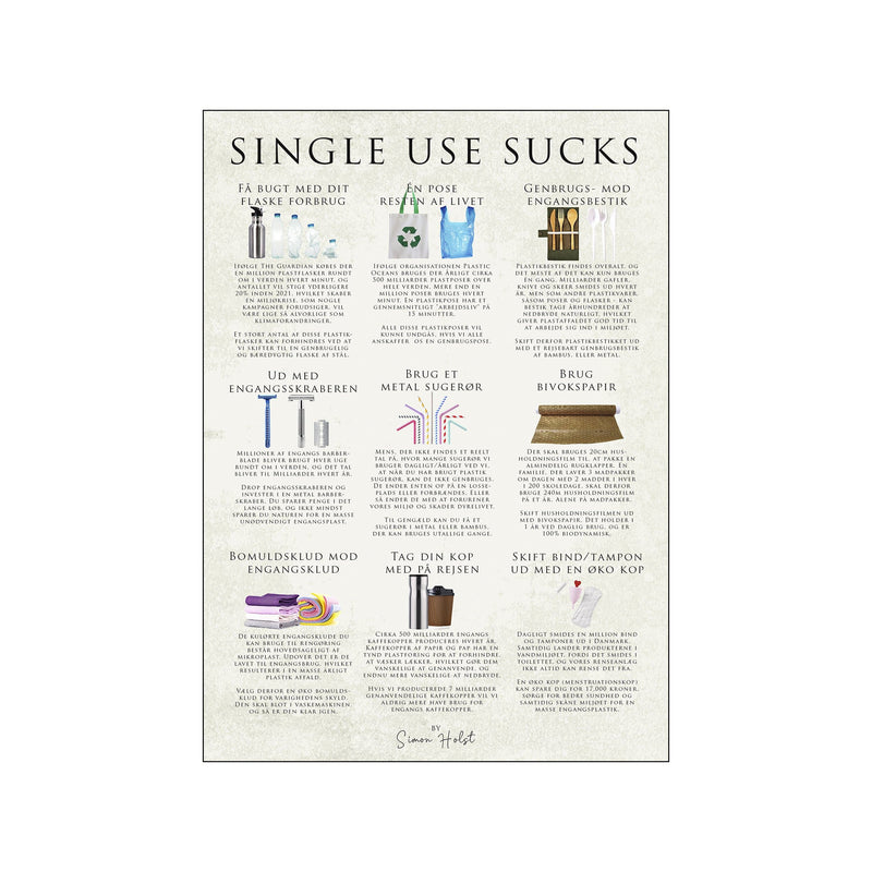 Single use sucks
