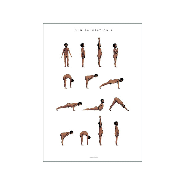 Sun Salutation A Man Brown