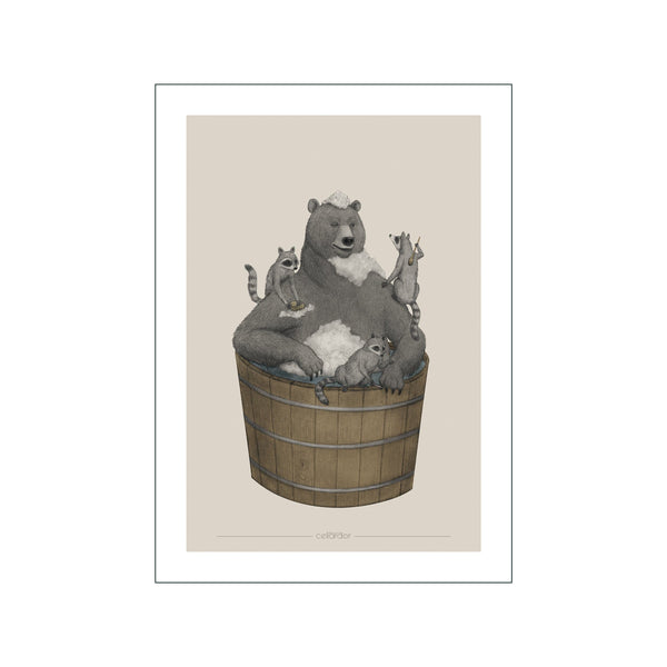 Washing Bear
