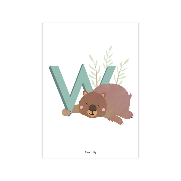 W for Wombat