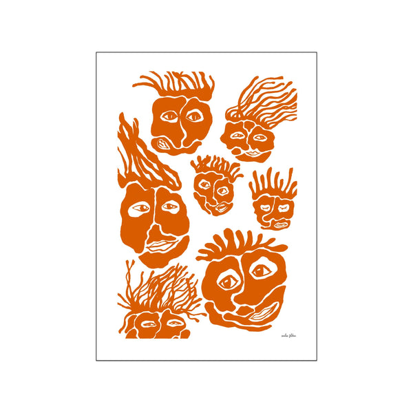 Sons & daughters no3 - orange