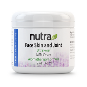 Face Skin and Joint Ultra Relief MSM Cream