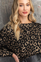 Golden Times Leopard Sweater