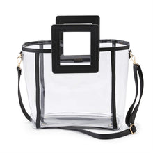 Load image into Gallery viewer, It's Ok To Be Square Clear Bag