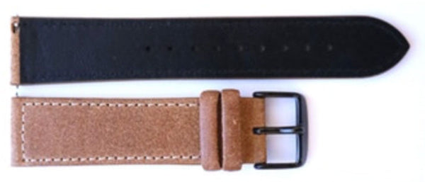 Camel leather strap