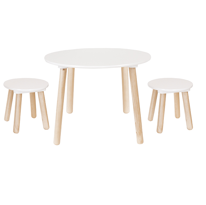 Table and stools - BamBamLand