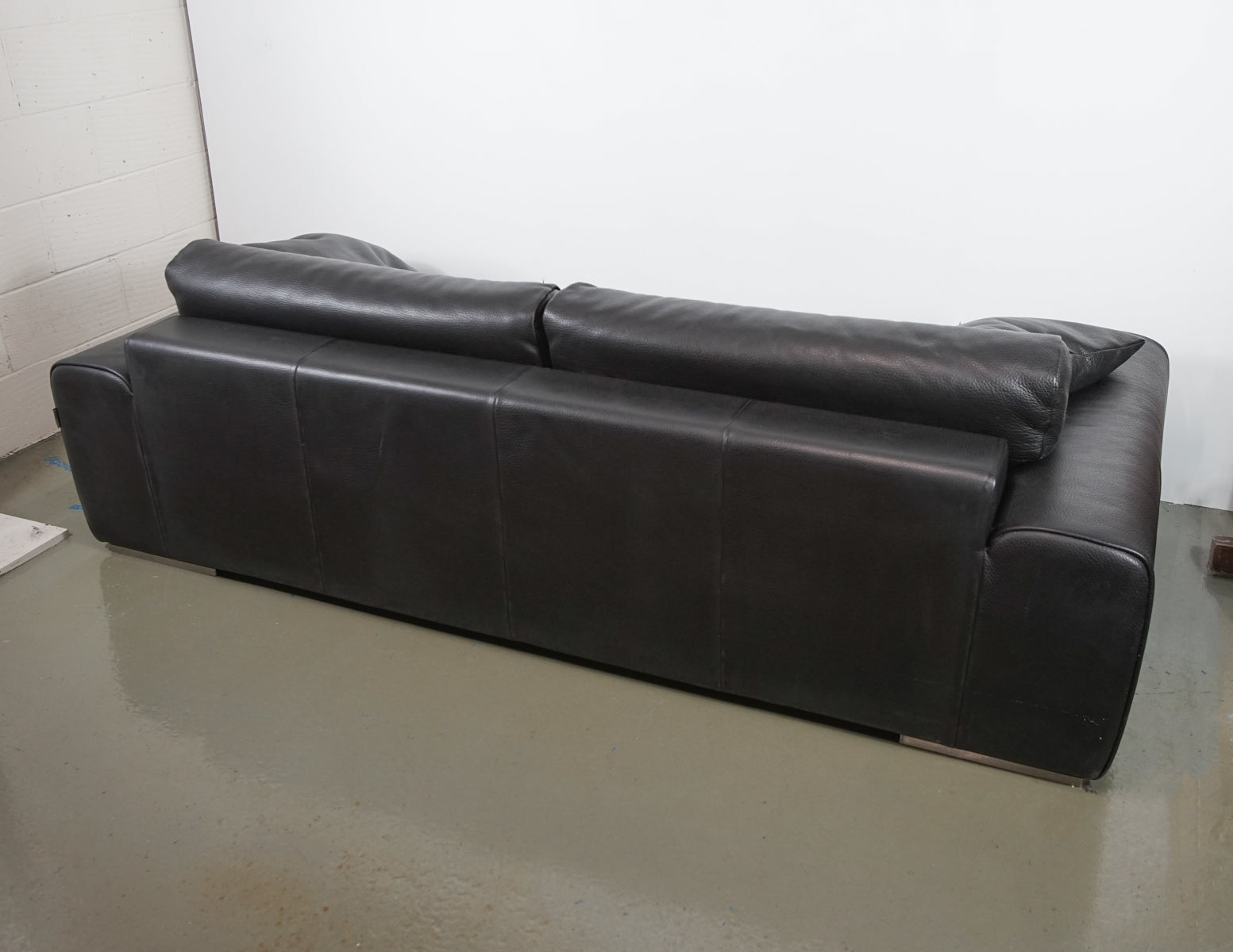 Roche Bobois 3 Seater Leather Sofa