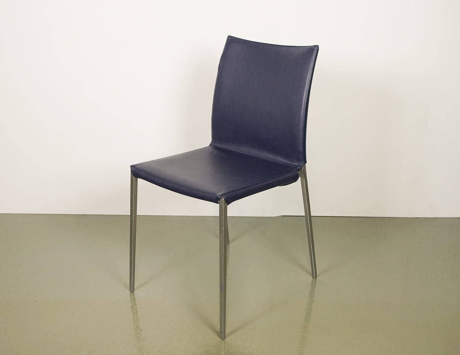 Zanotta Aluminium Chairs (4 units)