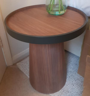 Habitat Walnut Side Table