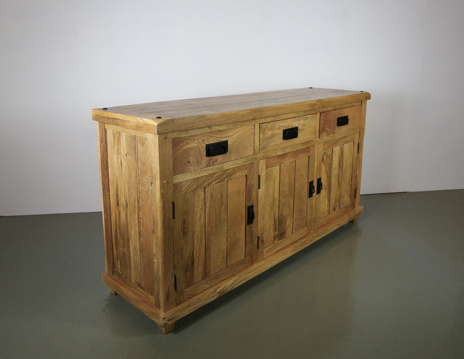 Oak Furniture Land Solid Wood Sideboard
