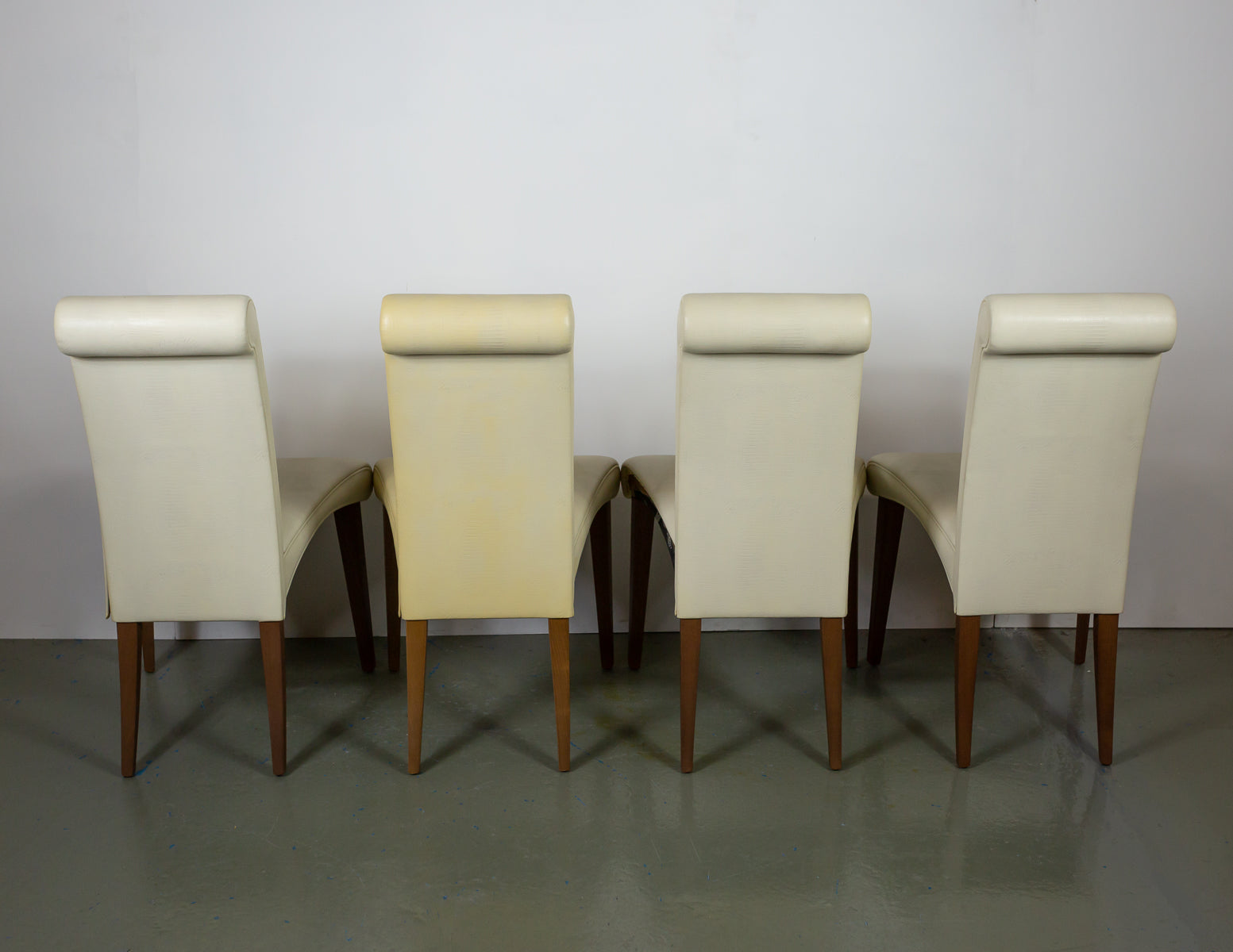 Cattelan Italia Leather Dining Chairs (4 units)