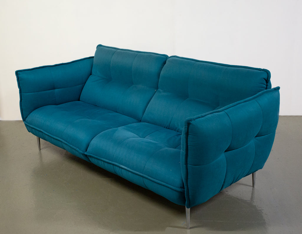 Beautiful and Modern Upholstered FLY 3 Seater Sofa: RRP £850