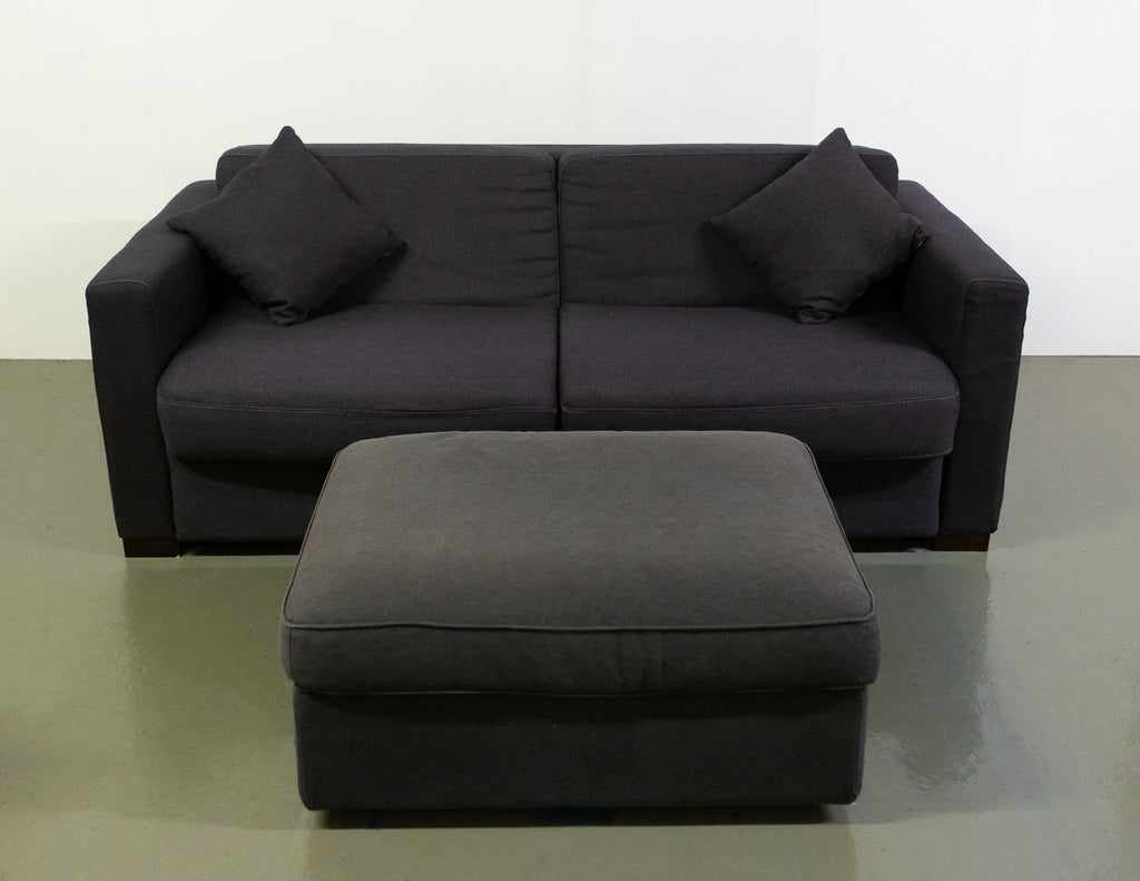 Sofa Bed and Ottoman