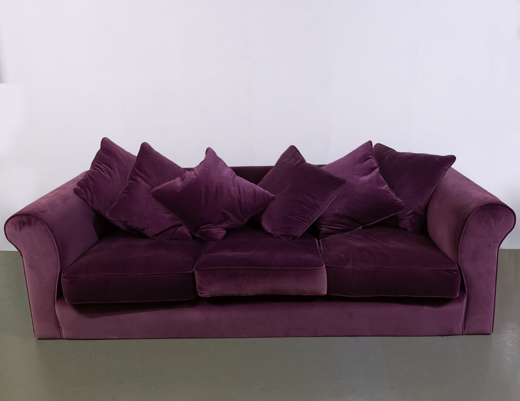 Beautiful Collins & Hayes Wellington Velvet Sofa