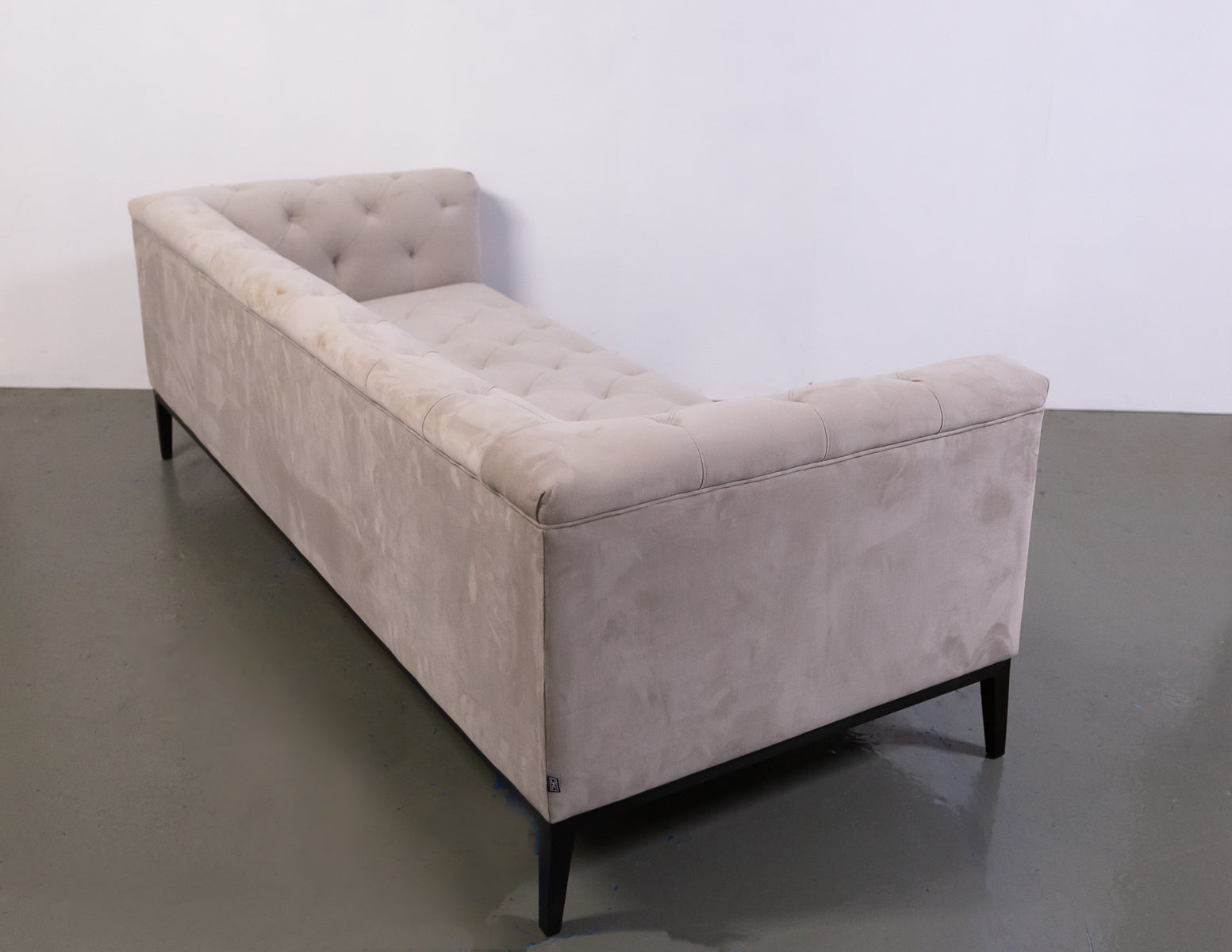 Elegant Eichholtz Cesare Sofa and Matching Armchairs