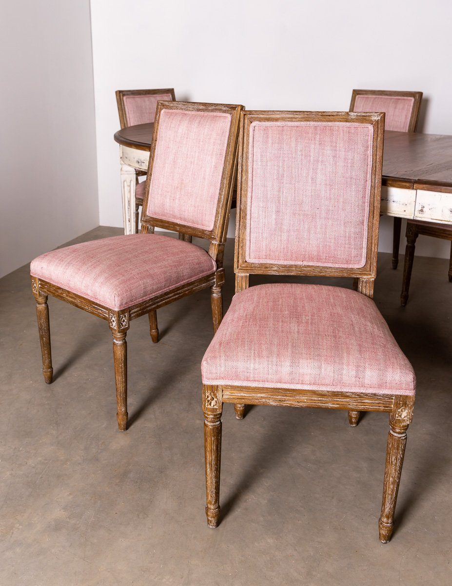Dining Chairs - 6 X Elegant French Inspired India Jane Le Manoir Dining Chairs