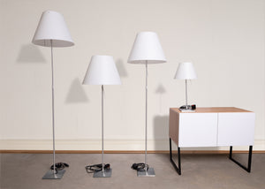 Lamp - Luceplan Set Of 4 Constanza Grande Matching Lamps With Touch Control