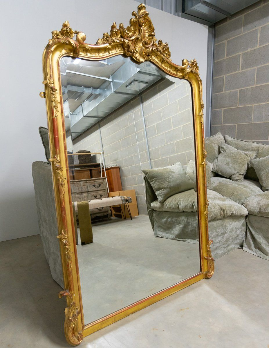 Mirror - Gorgeous And Timeless 19th Century Lassco Antique Mirror