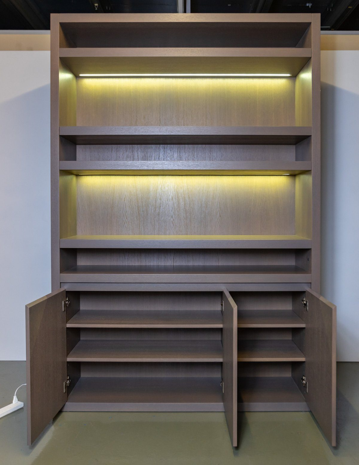 Shelving - Floor To Ceiling Mobilfresno Book Cases (2 Available)