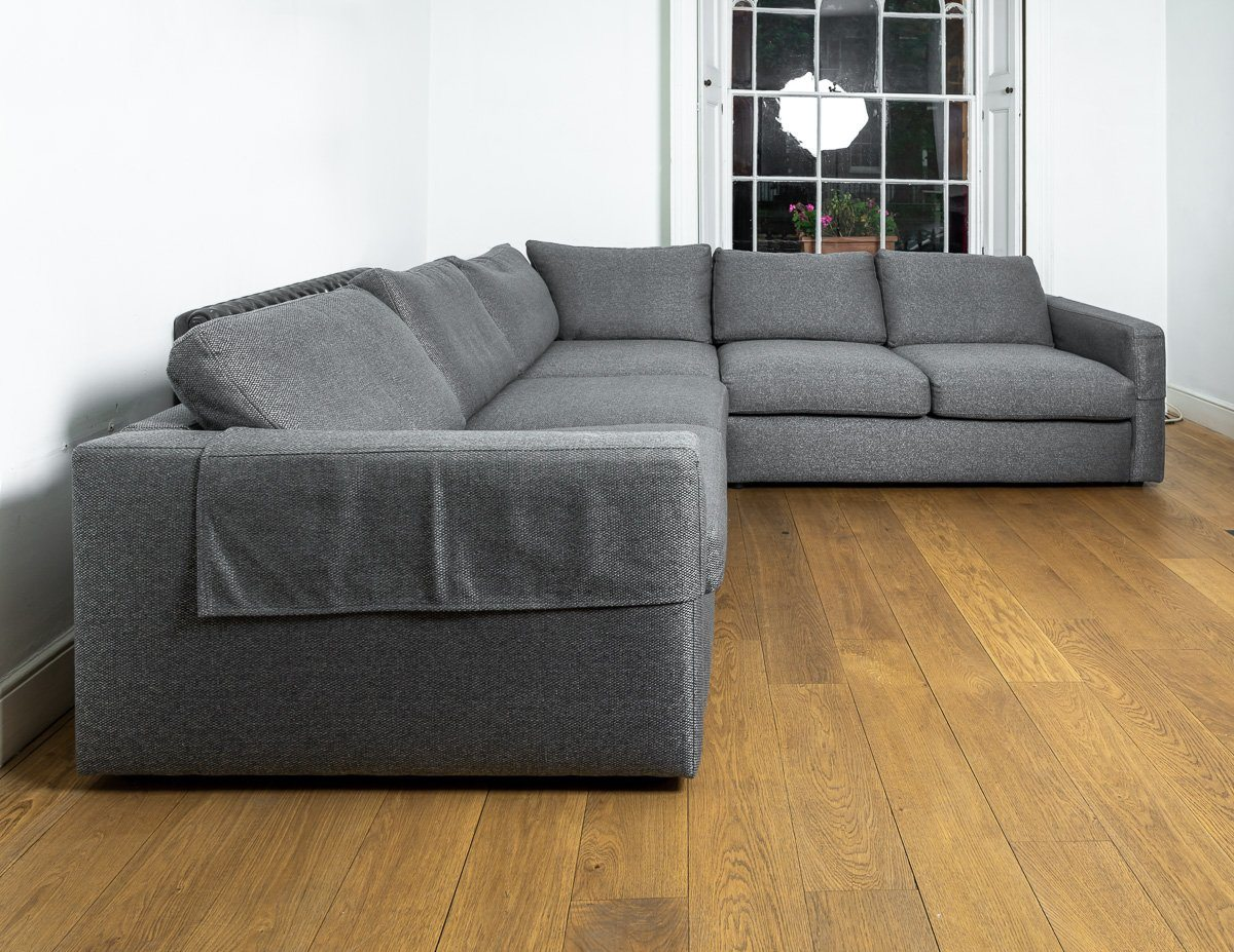 Sofa - Absolutely Beautiful And In Excellent Condition MULTIYORK Large Grey Corner Sofa