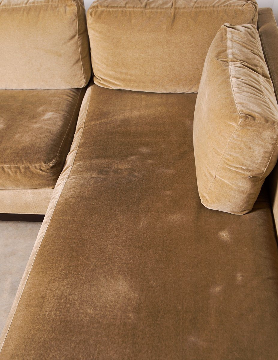 Sofa - Stylish ABC Carpet And Home NYC L-shaped Sectional