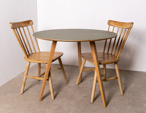 Table - Functional Unto This Last Compass Round Table And Chairs